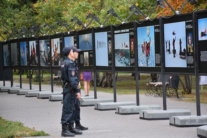 Новосибирск, 4 сентября. Выставка «Вызов Северному полюсу!»
