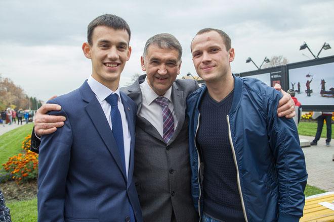 Андрей Руднев, Дмитрий Шпаро, Елисей Третьяков.