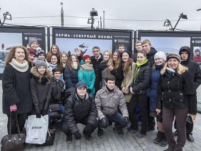 Пермь, 16 октября. Открытие выставки «Вызов Северному полюсу».