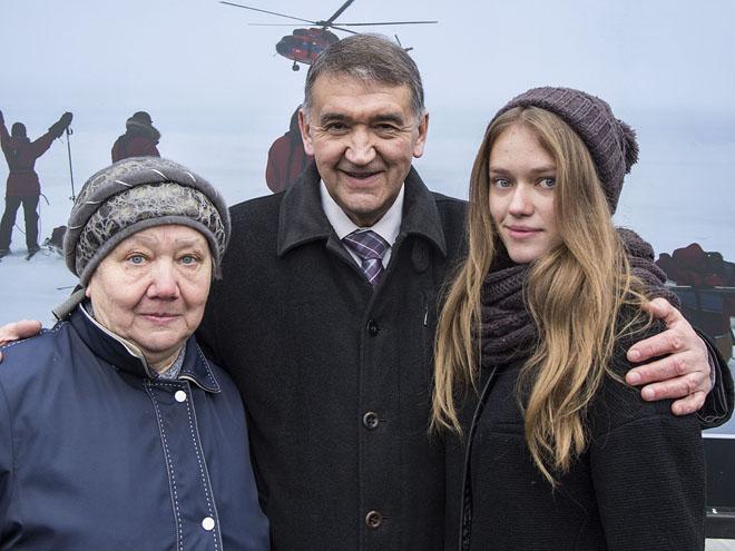 Вместе с Верой Николаевной – бабушкой Алены Беляевой.