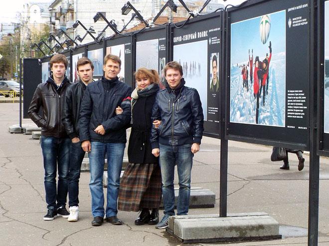 Семья Никиты Серкова: Кирилл, Влад, Дмитрий Владимирович, Людмила Ивановна, Илья.