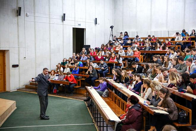 Лекция знаменитого полярника для студентов СКФУ.