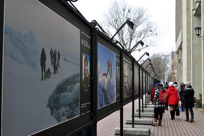 Фотовыставка «Вызов Северному полюсу» открылась в Ставрополе.