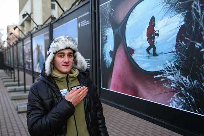 Виталий Гаспярян: на полюсе и дома.
